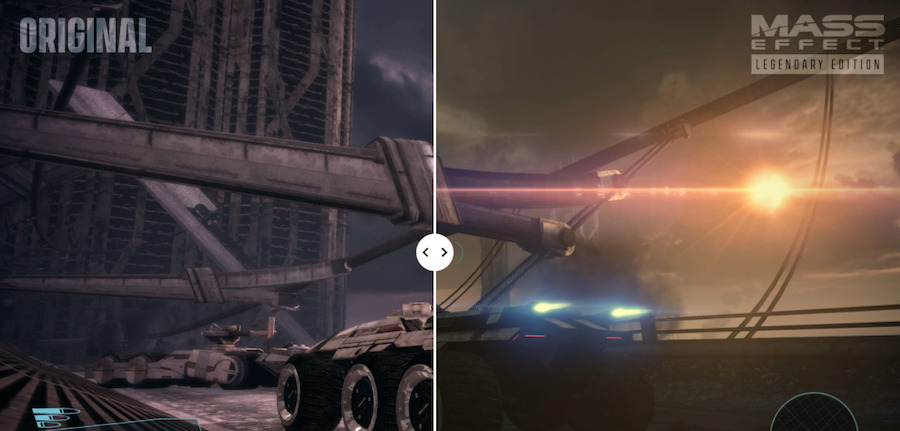 Mass Effect legendary edition graphismes