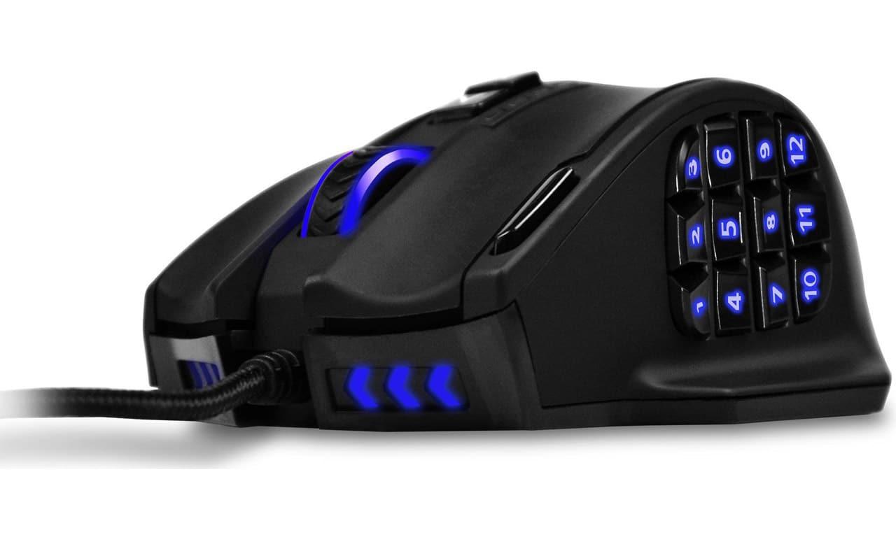 UtechSmart Souris laser gaming MMO
