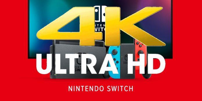 Il semblerait que l'écran OLED de la Nintendo Switch puisse supporter la 4K.